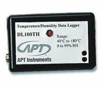 DL100TH Data Logger, Temperature/RH