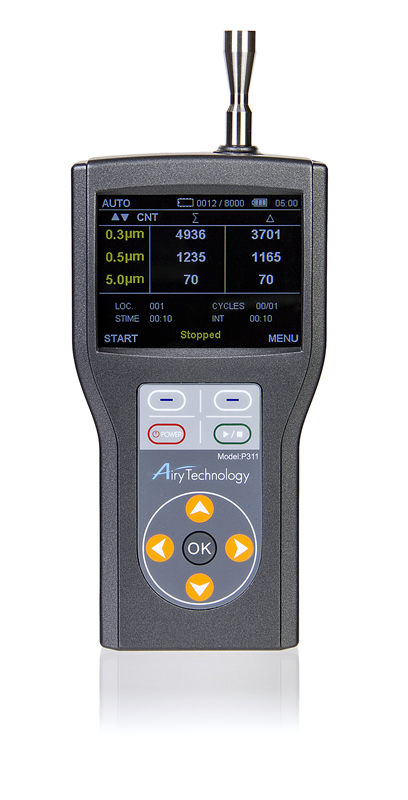 Airy Technology P311 Handheld Laser Particle Counter