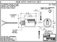 Compac Engineering Erecta Switch Level 10-782