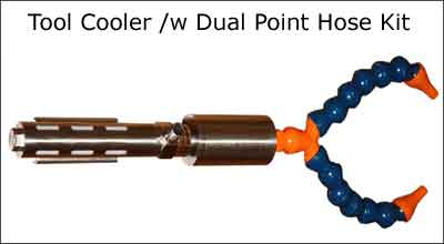 Tool Cooler eith Dual Point Hose